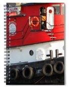 Tugboat Spiral Notebook