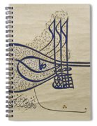 Tughra Of Suleiman The Magnificent Spiral Notebook
