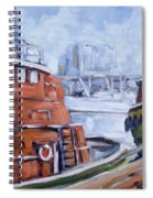 Tugs In Harbour Spiral Notebook