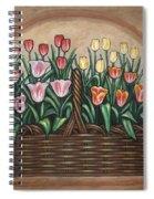 Tulip Basket Spiral Notebook