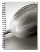 Tulip Black And White Spiral Notebook