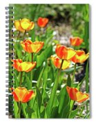 Tulip Bouquet Spiral Notebook