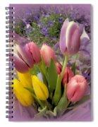 Tulip Bouquet Spiral Notebook