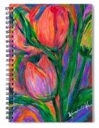 Tulip Edge Spiral Notebook