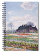 Tulip Fields At Sassenheim Spiral Notebook