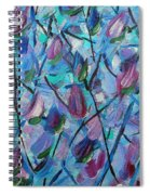 Tulip Harmony- Abstract Art Spiral Notebook