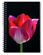 Tulip In Profile. Spiral Notebook