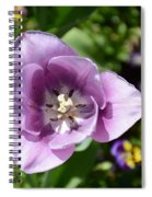 Tulip Lavender Spiral Notebook