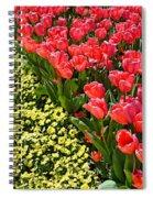 Tulip Line Spiral Notebook