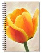 Tulip Orange Spiral Notebook