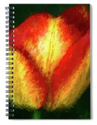 Tulip Painting Spiral Notebook