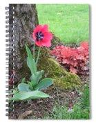 Tulip Poppie Spiral Notebook