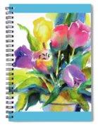 Tulip Pot Spiral Notebook