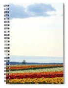 Tulip Town 13 Spiral Notebook