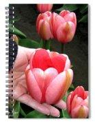 Tulip Town 15 Spiral Notebook