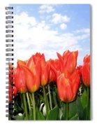 Tulip Town 17 Spiral Notebook