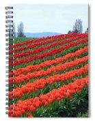 Tulip Town 18 Spiral Notebook