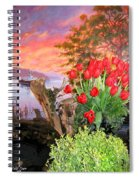 Tulip Town 19 Spiral Notebook