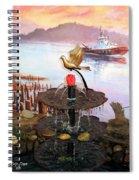 Tulip Town 20 Spiral Notebook