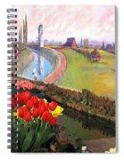 Tulip Town 21 Spiral Notebook