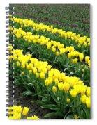 Tulip Town 9 Spiral Notebook