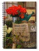 Tulip Town Spiral Notebook