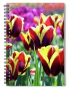 Tulip Treasures Spiral Notebook