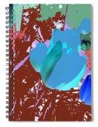 Tulipani Blu E Corallo Spiral Notebook