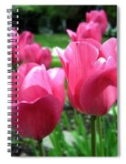 Tulipfest 3 Spiral Notebook