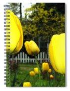 Tulipfest 8 Spiral Notebook