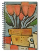 Tulips And Coffee Spiral Notebook