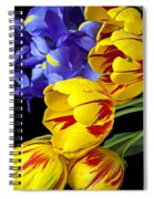 Tulips And Iris Spiral Notebook