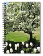 Tulips And Tees Spiral Notebook