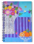 Tulips And White Lace Spiral Notebook