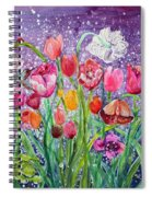 Tulips Are Magic In The Night Spiral Notebook