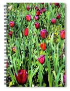 Tulips Blooming Spiral Notebook
