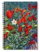 Tulips By The Gate Spiral Notebook