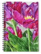 Tulips From A Friend Spiral Notebook