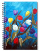 Tulips Galore II Spiral Notebook