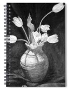 Tulips In A Vase Spiral Notebook