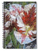 Tulips In Springtime Photomosaic Spiral Notebook