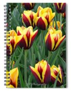 Tulips In The Garden Spiral Notebook