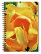 Tulips In Yellow Too Spiral Notebook