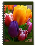 Tulips Smiling Spiral Notebook