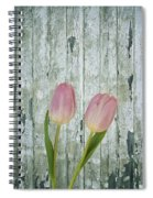 Tulips Two Spiral Notebook