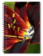 Tullflower Spiral Notebook