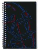 Tulsa Hurricane Football Spiral Notebook