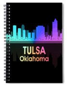 Tulsa Ok 5 Squared Spiral Notebook
