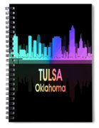 Tulsa Ok 5 Vertical Spiral Notebook