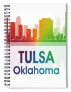 Tulsa Ok Spiral Notebook